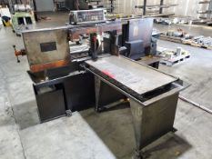 """Hemsaw Horizontal Bandsaw 15"""" x 6"""" (Can cut up to 16"""")W/ Controller, 220/440V, 14/7A, 3PH, 60HZ,"""