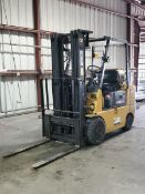 """CAT GC25 LP Forklift 4,350Cap., 3-Stage Mast, 42"""" Forks, 5,374hrs, 190"""" Lift Height"""