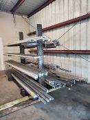 "Raw Matl. (134 Pcs) Grade: N-50 O.D. Range: 1.010"" - 5"", Length Range: 30"" - 158"""