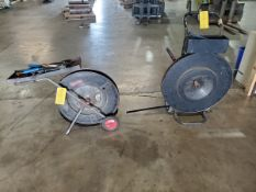 (2) Stl Banding Carts W/ Tooling & (2) Bands of steel
