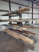 """Double-Sided Cantilever Rack 82"""" x 64"""" x 96"""", 2' Deep (Matl. Excluded)"""