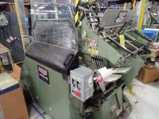 Kluge EHD 14 x 22 auto fed die cutter/ foil stamper w/ safety covers, s/n 52EHD1479496