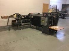 Rollem RW pile fed bi-directional perf/score/crease unit, s/n RW1011/065 (2010) with mobile pile