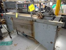In line belt conveyor with electric dryer (Located in North Adams, MA)