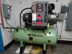 Sullair ES8-30H ACAC 460V 30HP air compressor, s/n 003-104133 (Located in Seabrook, NH)(This machine