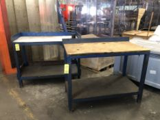 Lot (2) Benches 4'