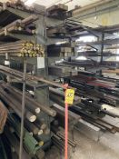 LOT (3) Lyon 2 Sides Cantilever Racks w/ Steel Bar & Rod (RIG PRICE $800.00)