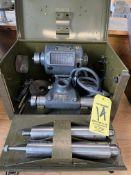 Dumore #5 Tool Post Grinder, s/n 14205N (RIG PRICE $5.00)