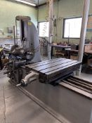 """Lucas 31 Horizontal Boring Mill, 22"""" x 42"""" Slotted Table (RIG PRICE $800.00)"""