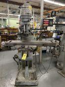 "Bridgeport Vert. Mill, 1 HP, s/n 43384, Servo Power Feed Type 140, Analam Spirit 2 Axis D.RO. 42"""