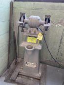 Hisey D.E. Pedestal Grinder (RIG PRICE $5.00)