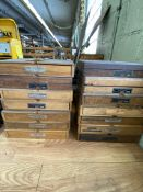 LOT (14) Cases of Gorton Pantographs, Letter & Number Type (RIG PRICE $5.00)