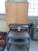 LOT Port. Cart & Supply Cabinet (RIG PRICE $10.00)