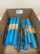 "(15) 23/32"" Dia. X-Long M42 Cobalt Drills - Taper Shank"