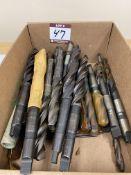 (30) Assorted HSS+M42 Cobalt Drills - Taper Shank