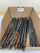 "(25) .357"" Dia. X-Long M42 Cobalt Drills + (15) .160"" Dia. X-Long HSS Drills"