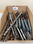 """(40) 3/8-3/4"""" Dia. X-Long HSS Drills - Taper Shank"""