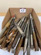 (12) Assorted M42 Cobalt Reamers - Taper Sh + (12) Gun Taps - Straight Sh
