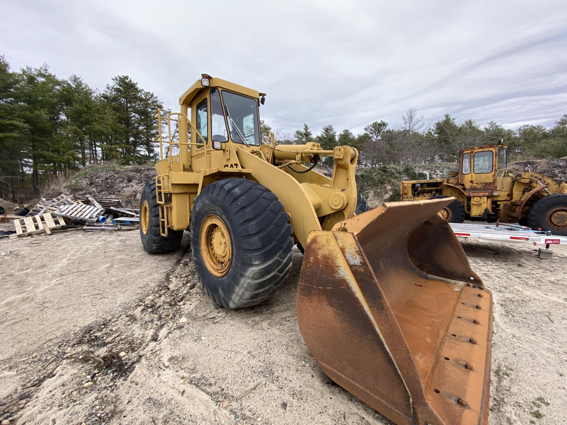 1980 Caterpillar 966D Wheel Loader s/n 99Y02108, Meter Reads 4,664 Hours, Have Title - Image 18 of 23