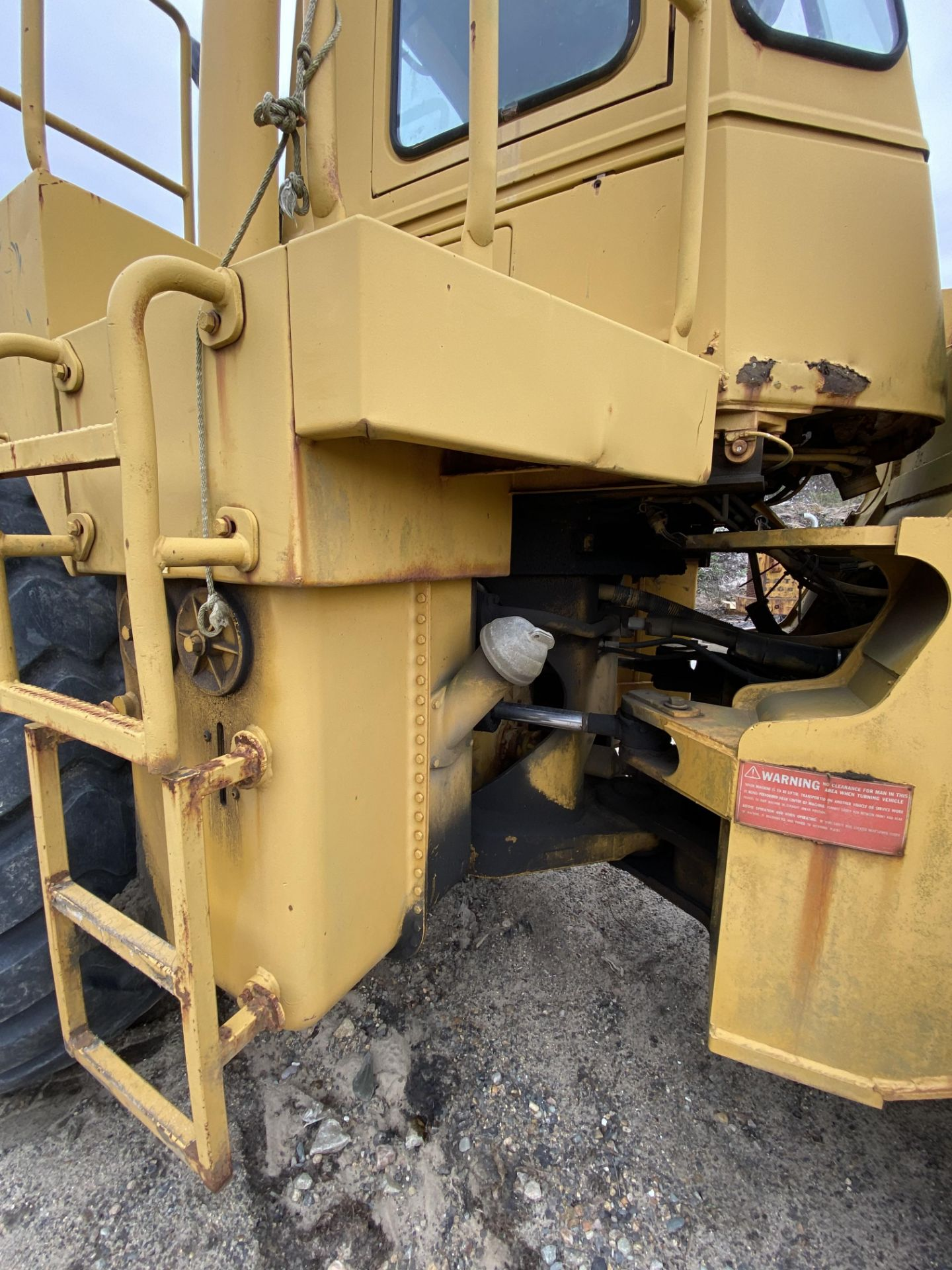 1980 Caterpillar 966D Wheel Loader s/n 99Y02108, Meter Reads 4,664 Hours, Have Title - Image 16 of 23