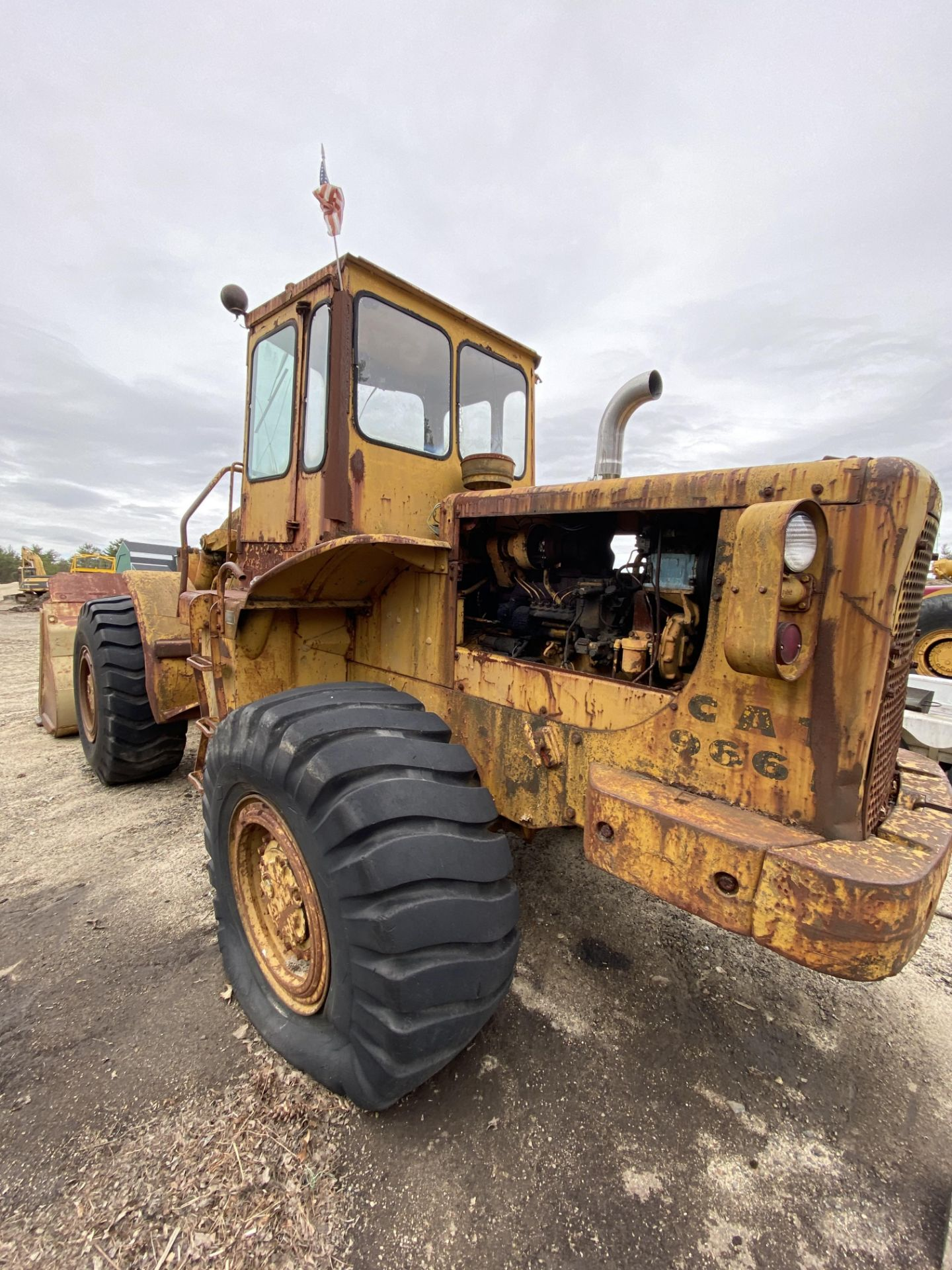 Caterpillar 966B Wheel Loader s/n 75A4794, No Title - Image 9 of 16
