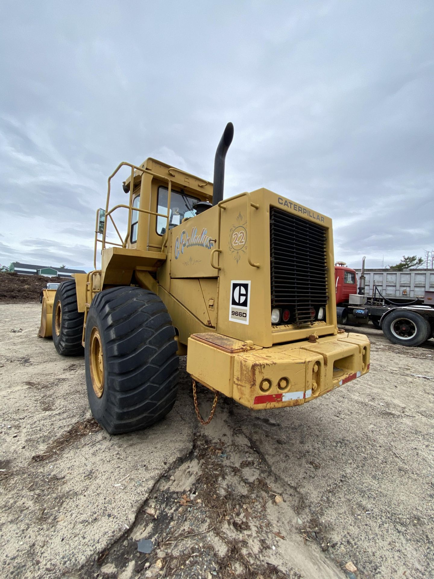 1980 Caterpillar 966D Wheel Loader s/n 99Y02108, Meter Reads 4,664 Hours, Have Title - Image 9 of 23