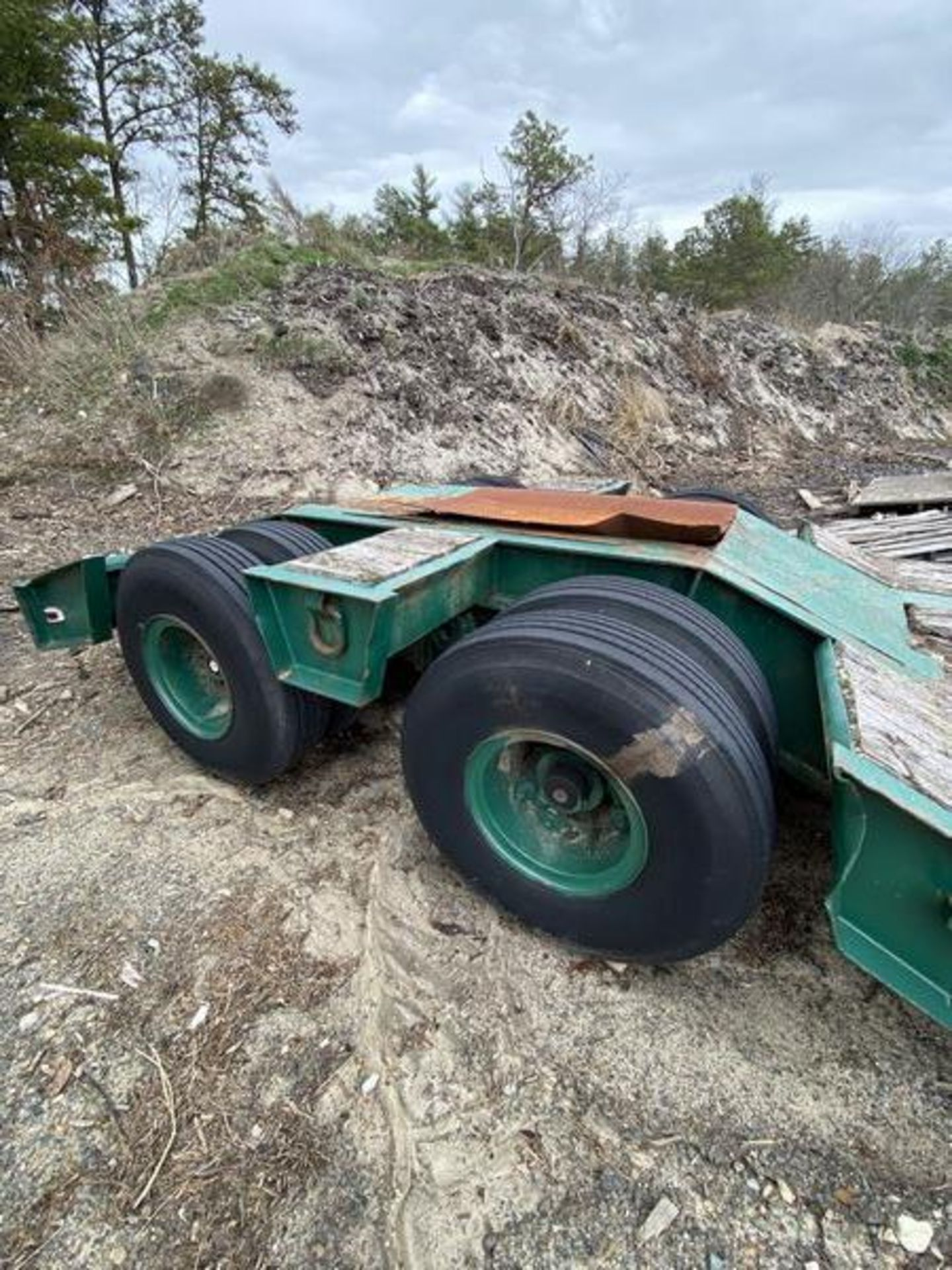 1973 General 35 Ton Low Bed Trailer VIN 35GHG73378R, Have Title - Image 9 of 11