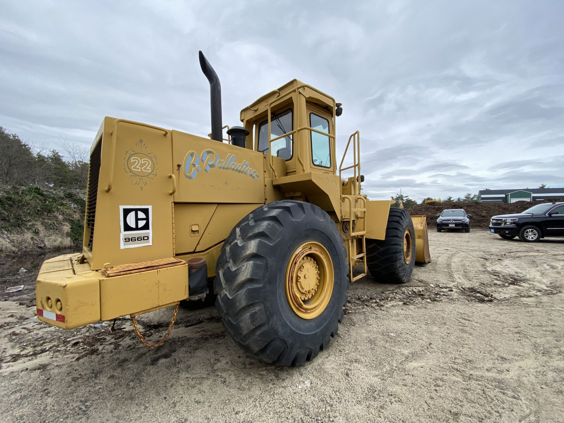 1980 Caterpillar 966D Wheel Loader s/n 99Y02108, Meter Reads 4,664 Hours, Have Title - Image 12 of 23
