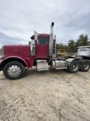 2011 Peterbilt 388 Tandem Axle Tractor VIN 1XPWDBOX7BD124834, Meters Read 39,547 Miles (Original),