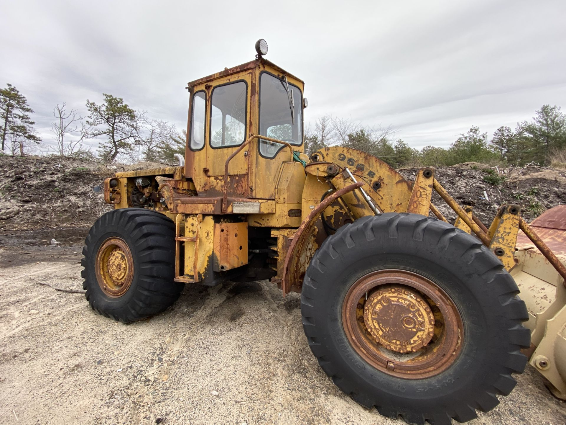 Caterpillar 966B Wheel Loader s/n 75A4794, No Title - Image 5 of 16