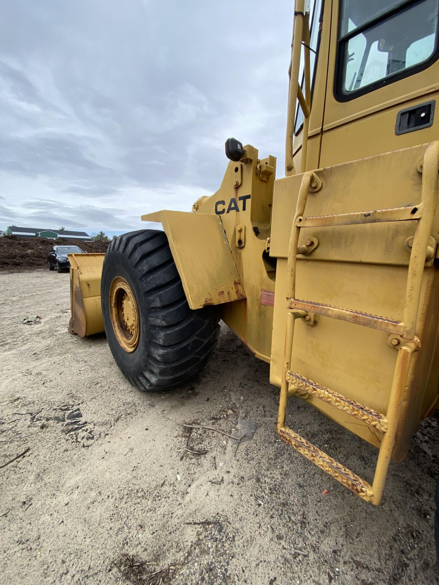 1980 Caterpillar 966D Wheel Loader s/n 99Y02108, Meter Reads 4,664 Hours, Have Title - Image 7 of 23