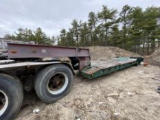 1973 General 35 Ton Low Bed Trailer VIN 35GHG73378R, Have Title
