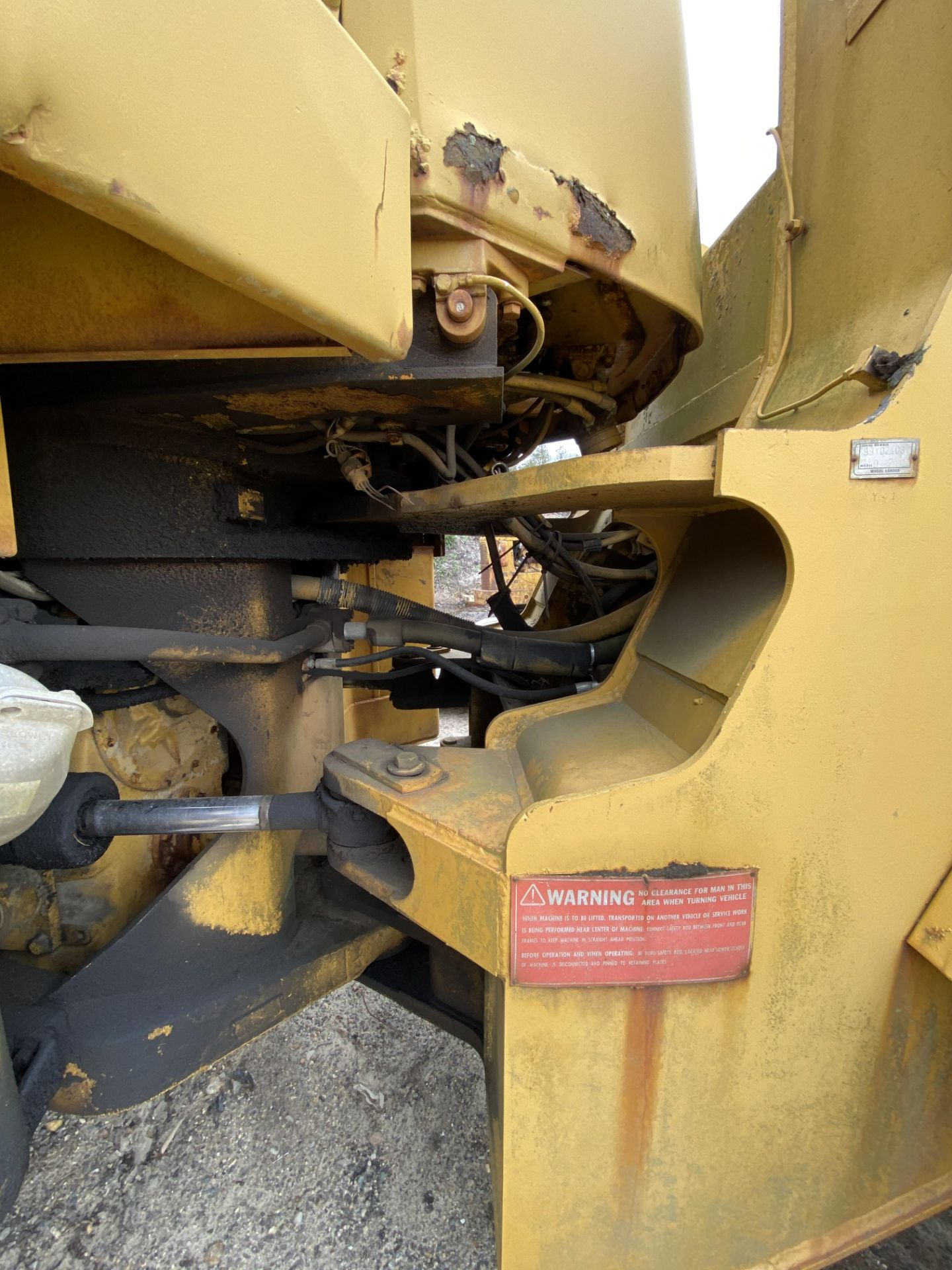 1980 Caterpillar 966D Wheel Loader s/n 99Y02108, Meter Reads 4,664 Hours, Have Title - Image 17 of 23