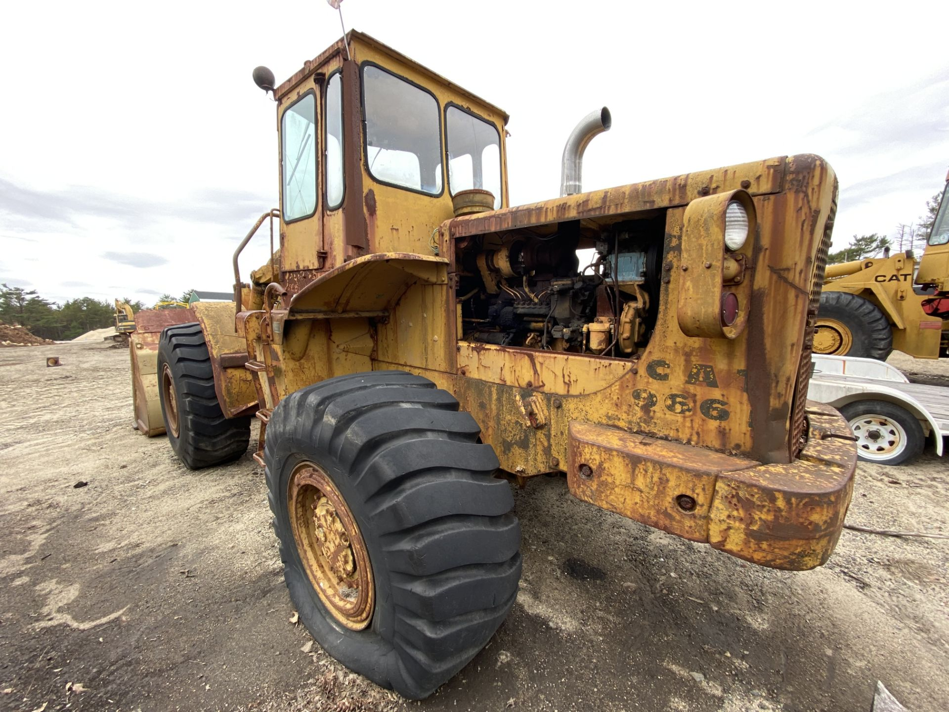 Caterpillar 966B Wheel Loader s/n 75A4794, No Title - Image 11 of 16