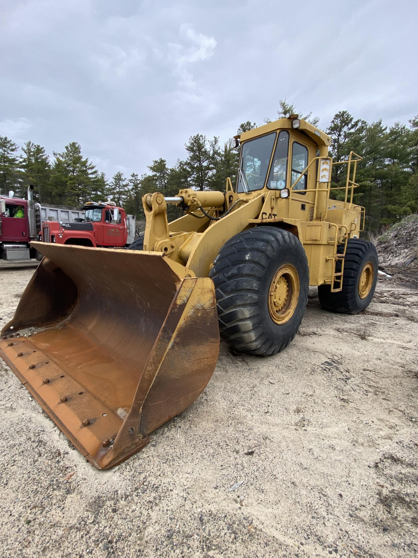 1980 Caterpillar 966D Wheel Loader s/n 99Y02108, Meter Reads 4,664 Hours, Have Title - Image 3 of 23