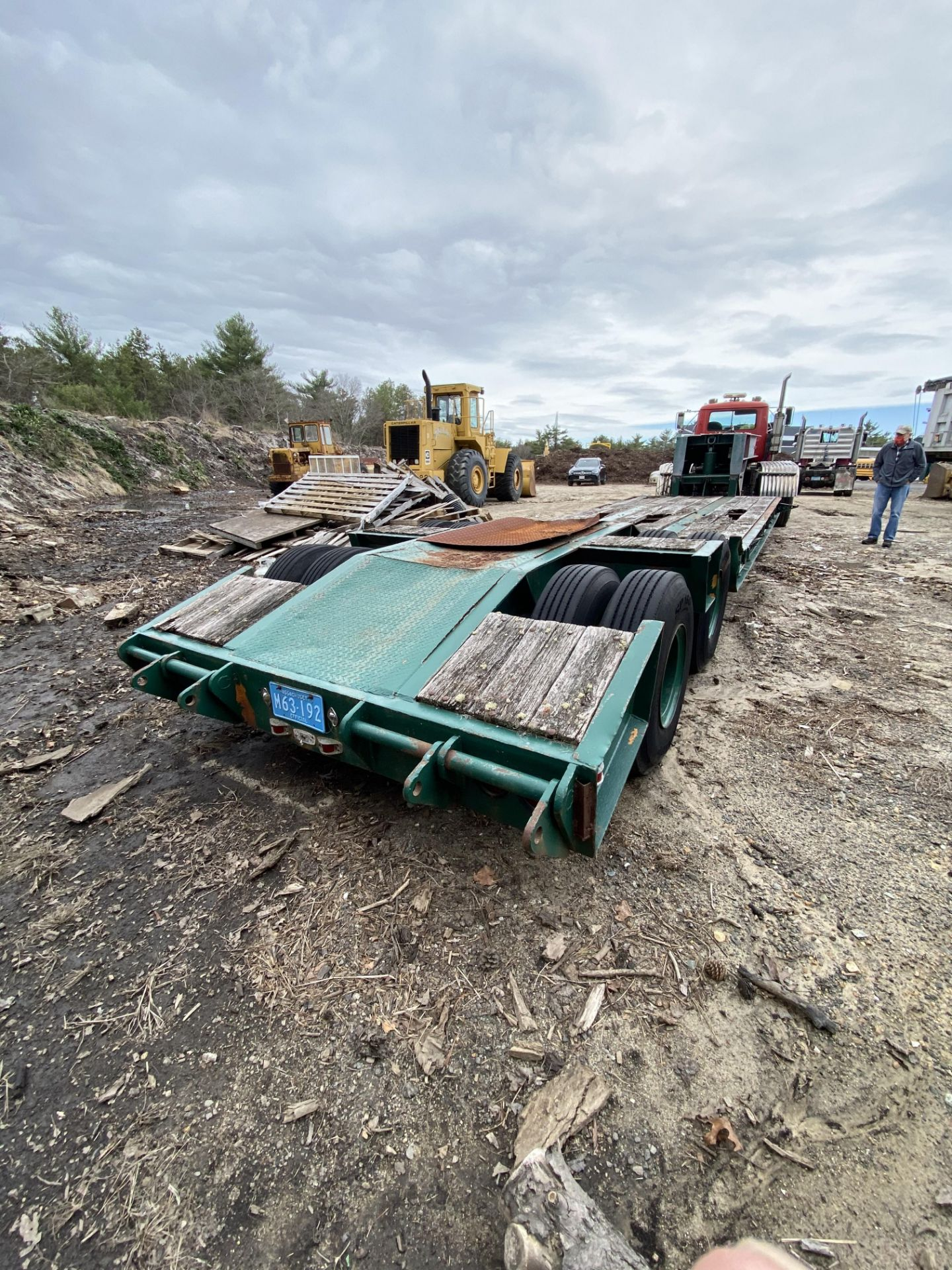 1973 General 35 Ton Low Bed Trailer VIN 35GHG73378R, Have Title - Image 10 of 11