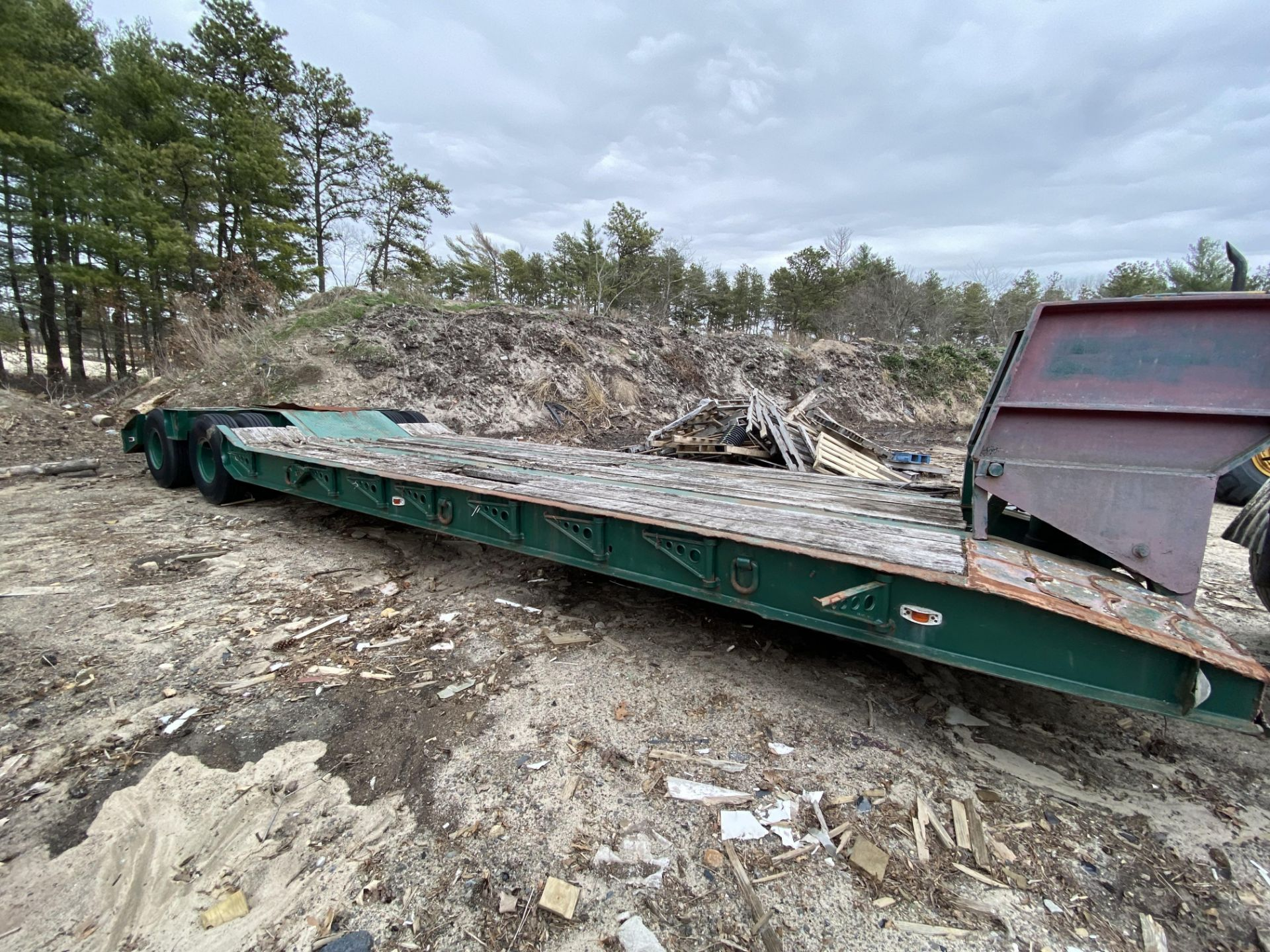 1973 General 35 Ton Low Bed Trailer VIN 35GHG73378R, Have Title - Image 8 of 11