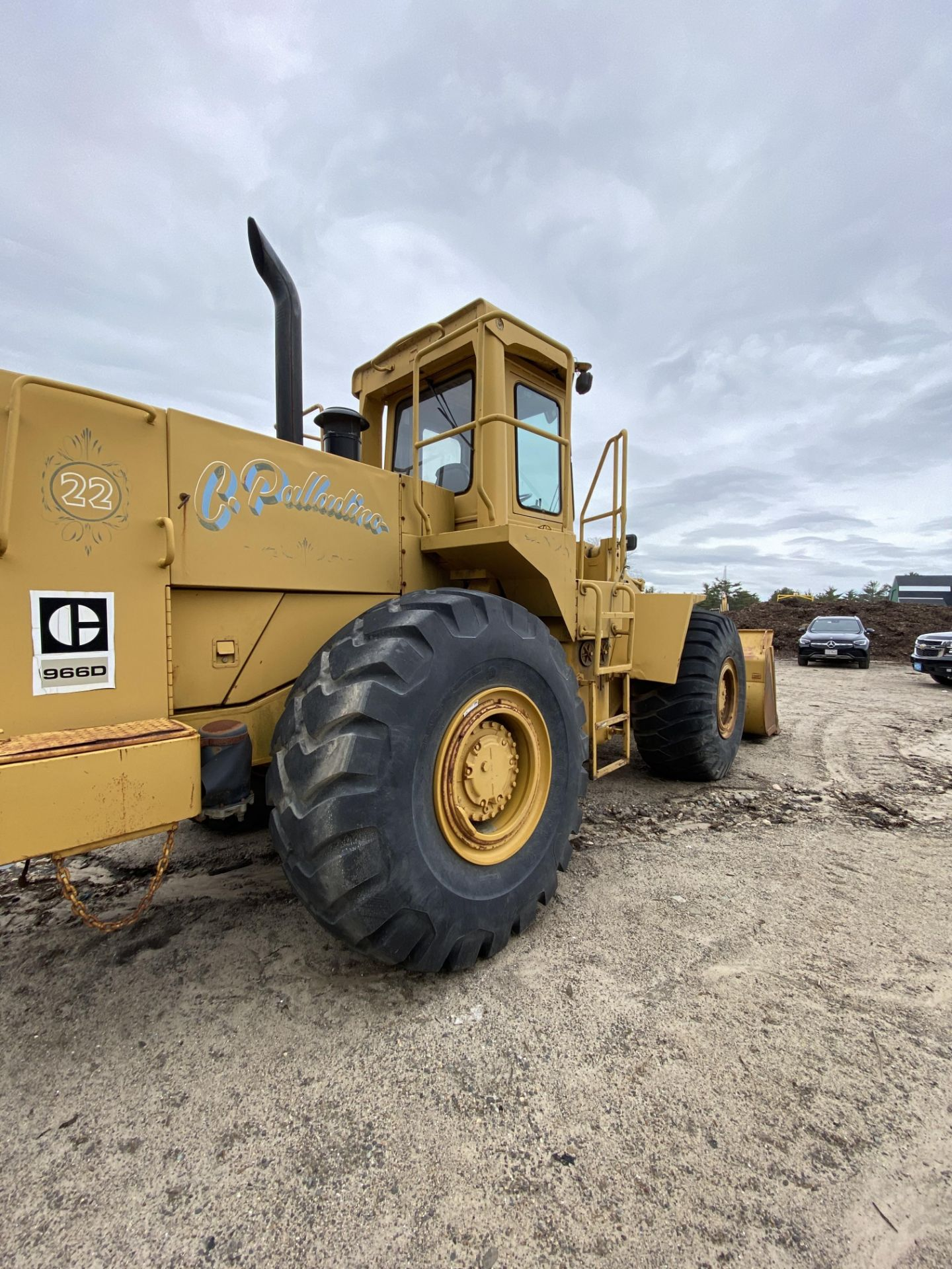 1980 Caterpillar 966D Wheel Loader s/n 99Y02108, Meter Reads 4,664 Hours, Have Title - Image 13 of 23