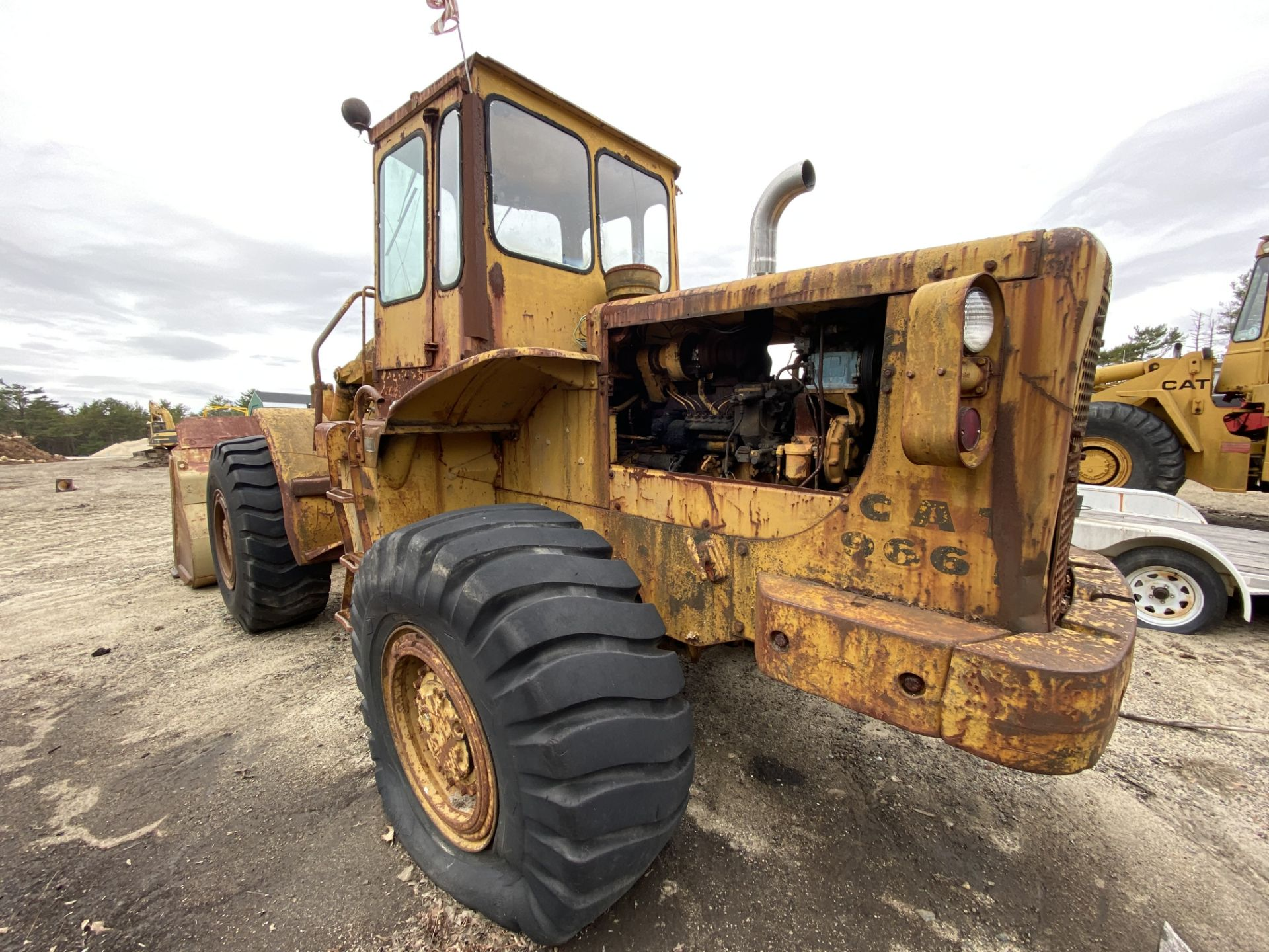 Caterpillar 966B Wheel Loader s/n 75A4794, No Title - Image 10 of 16