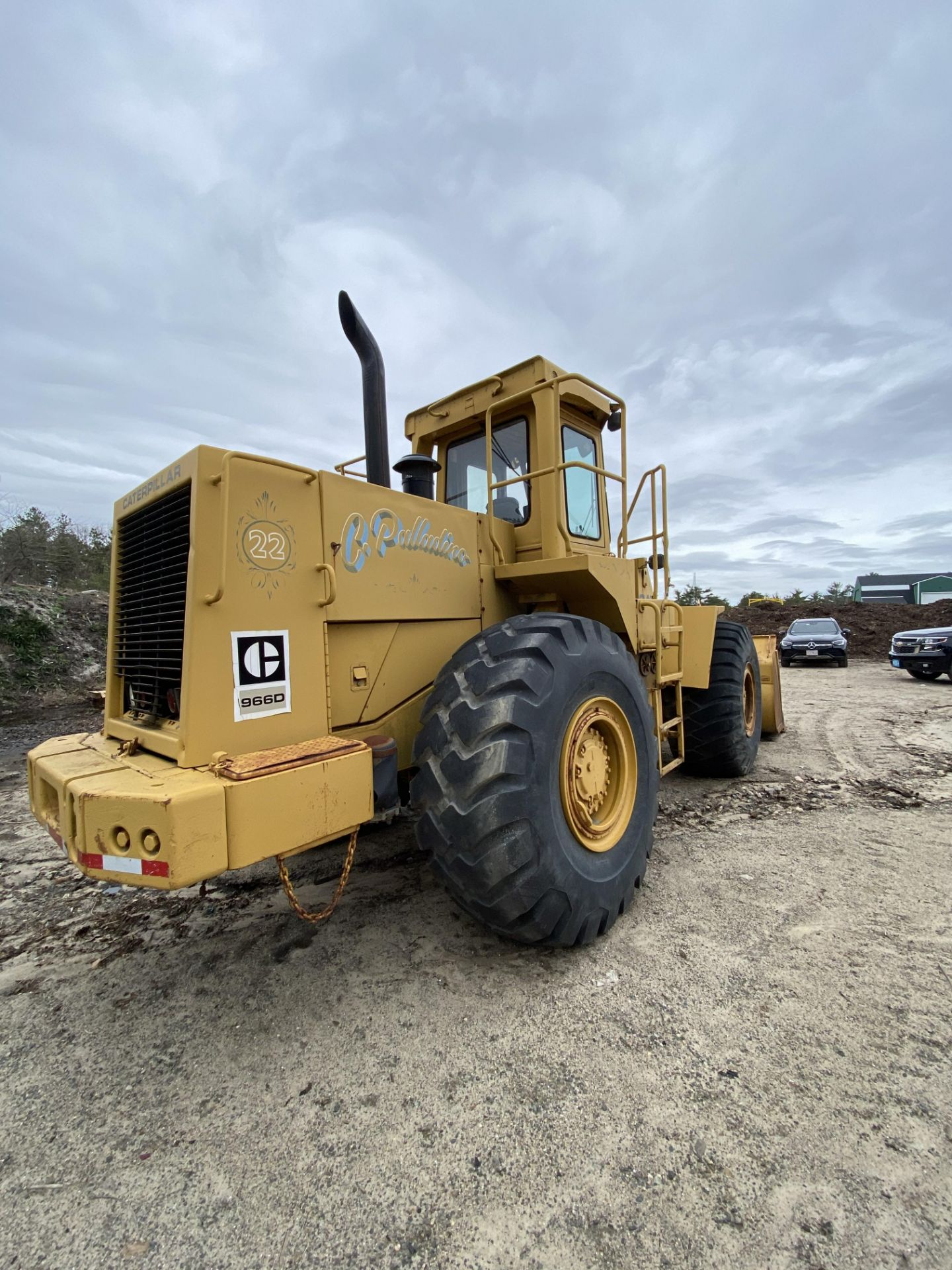 1980 Caterpillar 966D Wheel Loader s/n 99Y02108, Meter Reads 4,664 Hours, Have Title - Image 11 of 23