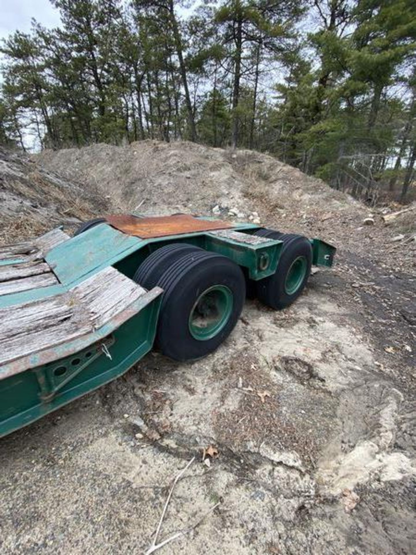 1973 General 35 Ton Low Bed Trailer VIN 35GHG73378R, Have Title - Image 5 of 11
