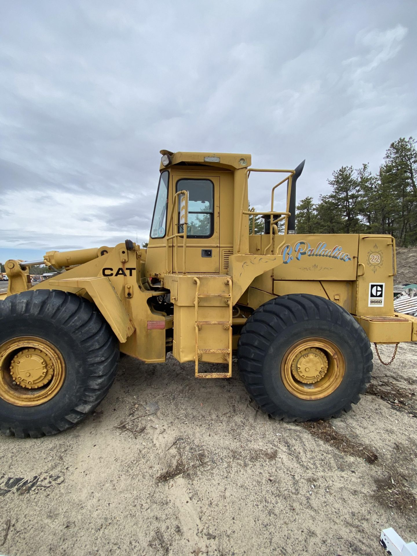 1980 Caterpillar 966D Wheel Loader s/n 99Y02108, Meter Reads 4,664 Hours, Have Title - Image 6 of 23