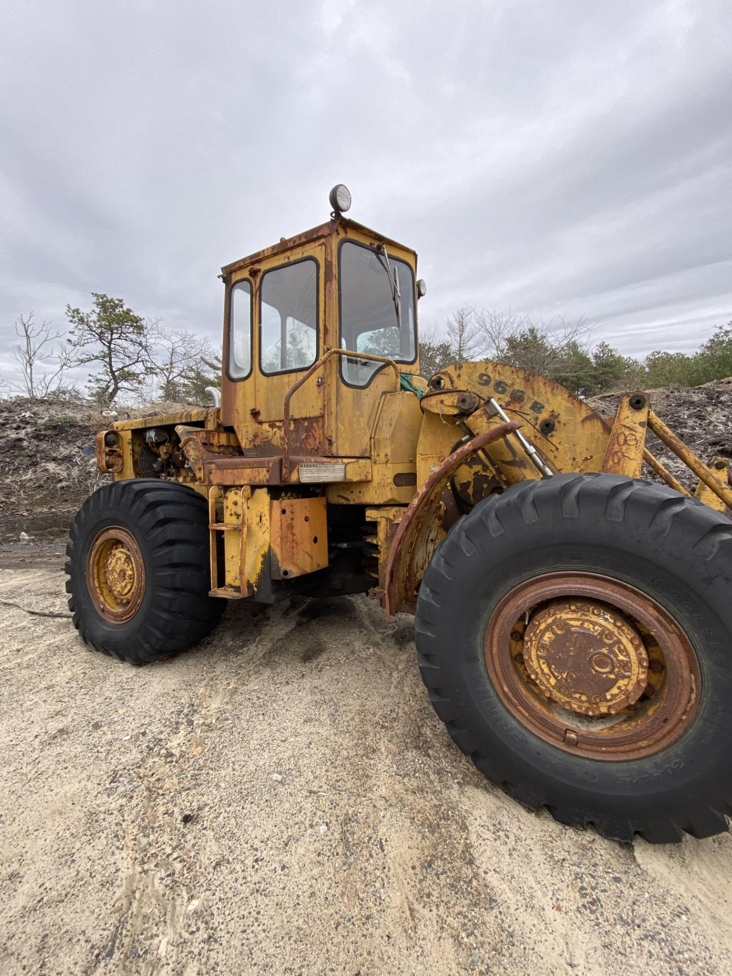 Caterpillar 966B Wheel Loader s/n 75A4794, No Title - Image 4 of 16