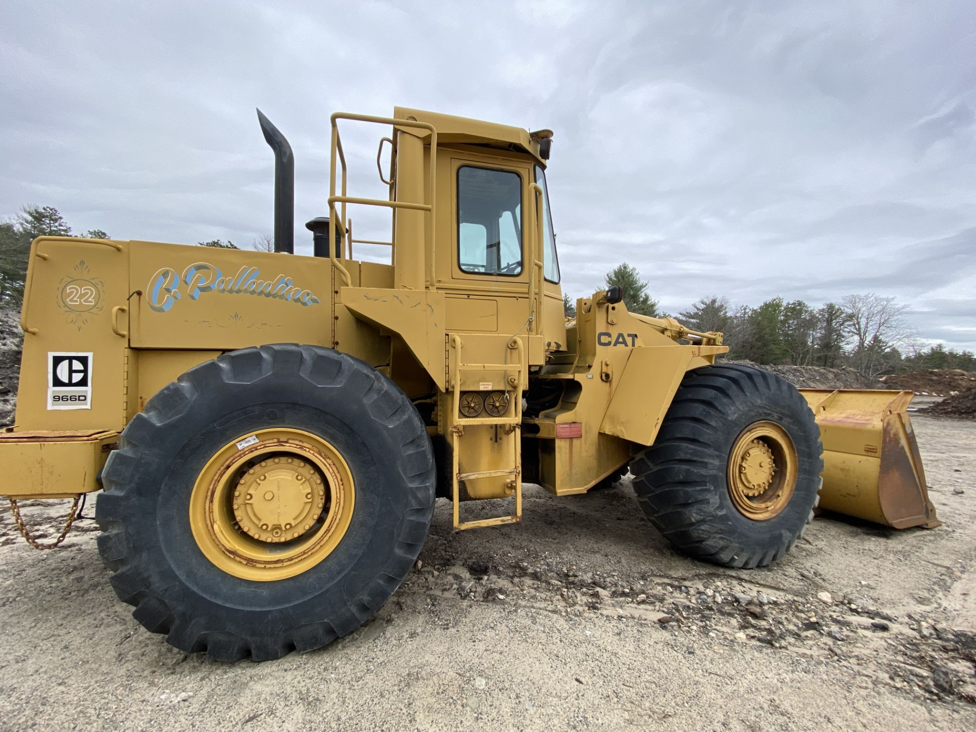 1980 Caterpillar 966D Wheel Loader s/n 99Y02108, Meter Reads 4,664 Hours, Have Title - Image 14 of 23