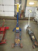 (1) Hein - Werner 10 Ton Hydraulic Jack, Air/Manual