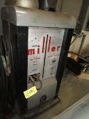 (1) Miller 202 Heliarc AC Arc Welder w/ Helmets