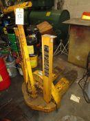 (1) Moto-Truc Hydraulic Pallet Jack, 4,000 Lbs. Capacity