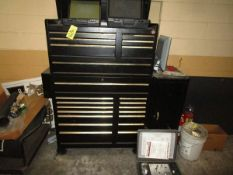 LOT 22-Drawer Portable Tool Cabinet w/ Allison Transmission Series 1000, 2000, 3000, 4000 Tooling