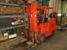 "(1) Allis-Chalmers ACC100C LPG Forklift, 8,000 Lb. 171"" Lift, 9,769 Hours, Sideshift"