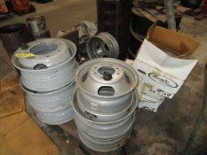 LOT (9) Assorted GMC Rims, C7500, 5500